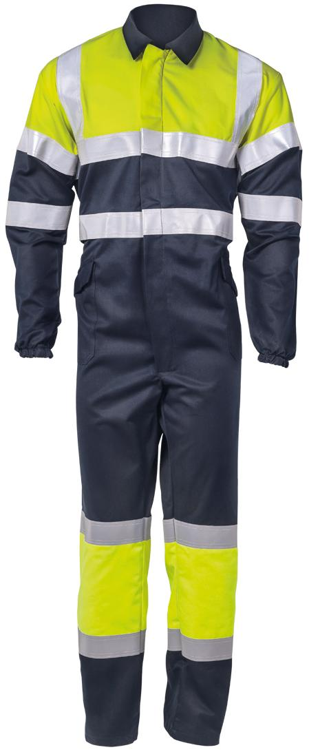 8448 - FR Antistatic coverall hi-visibility Image