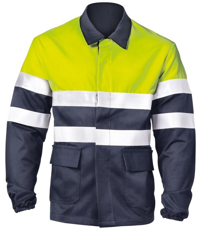 8448 -FR Antistatic jacket hi-visibility Image