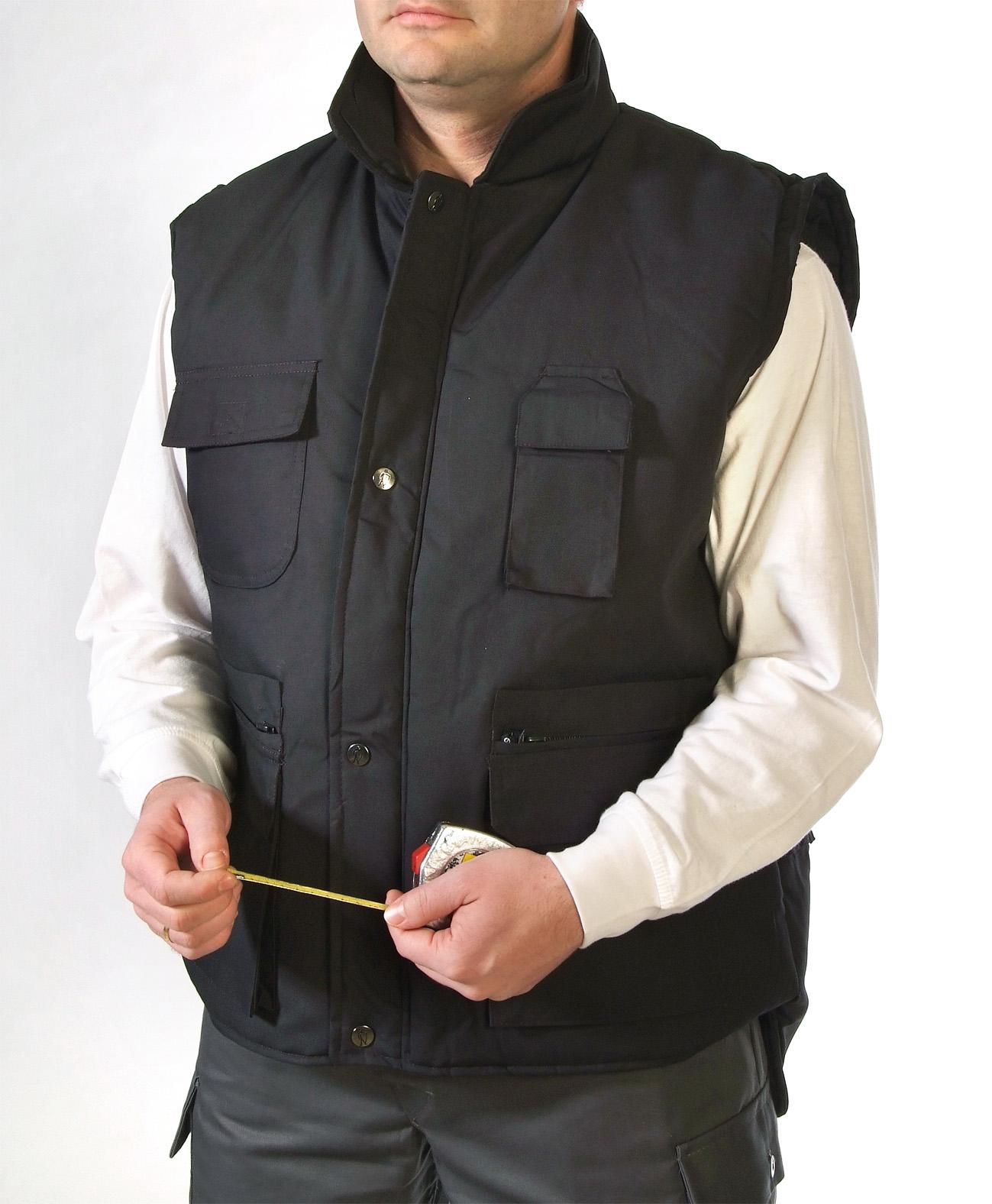 Multi pocket vest Image