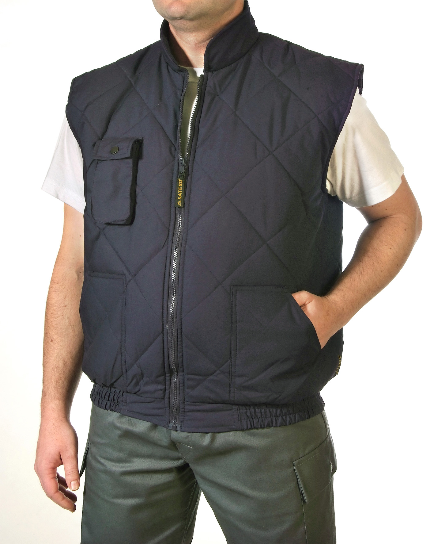 Padded vest short Image