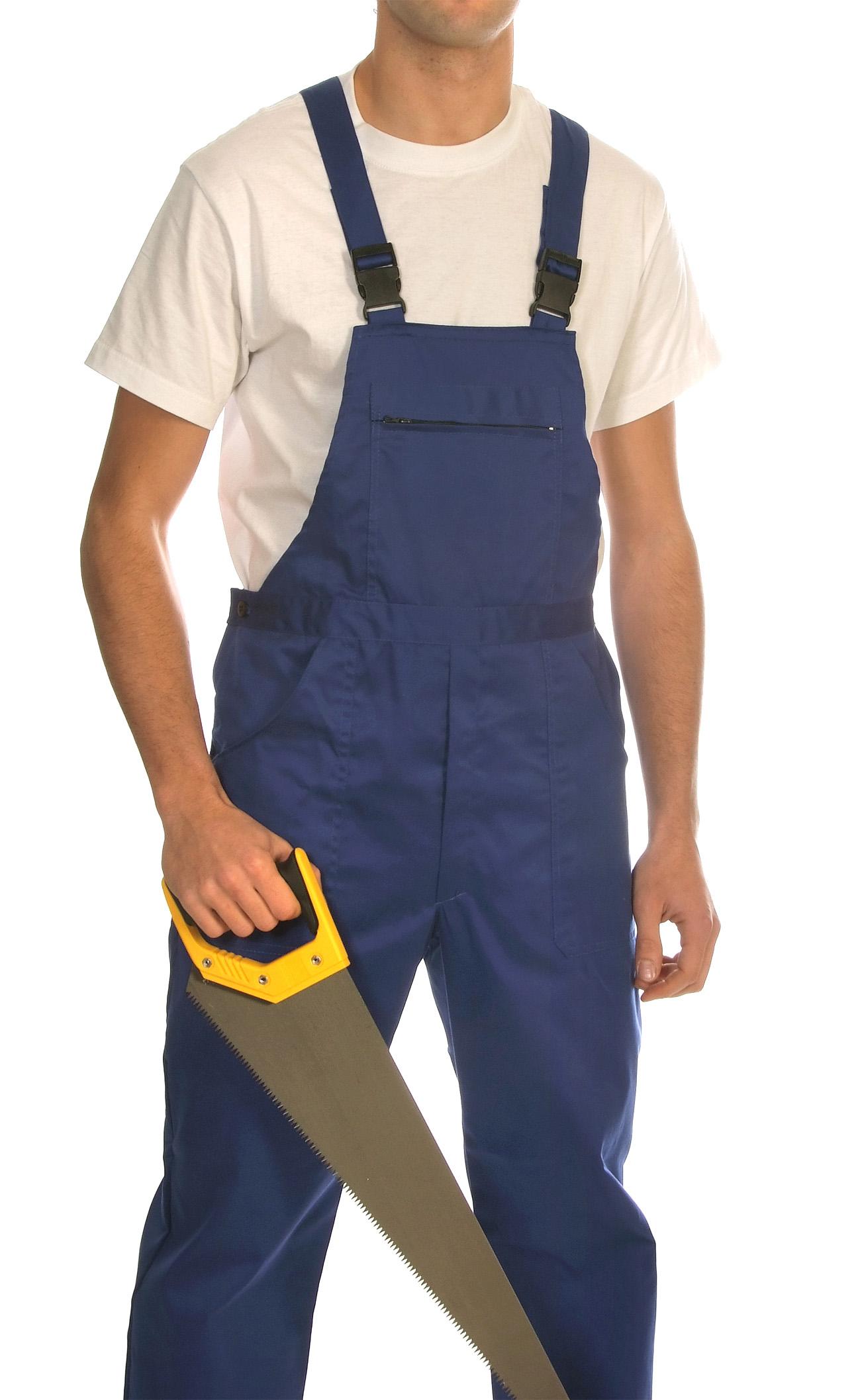 Bib and brace trousers Image