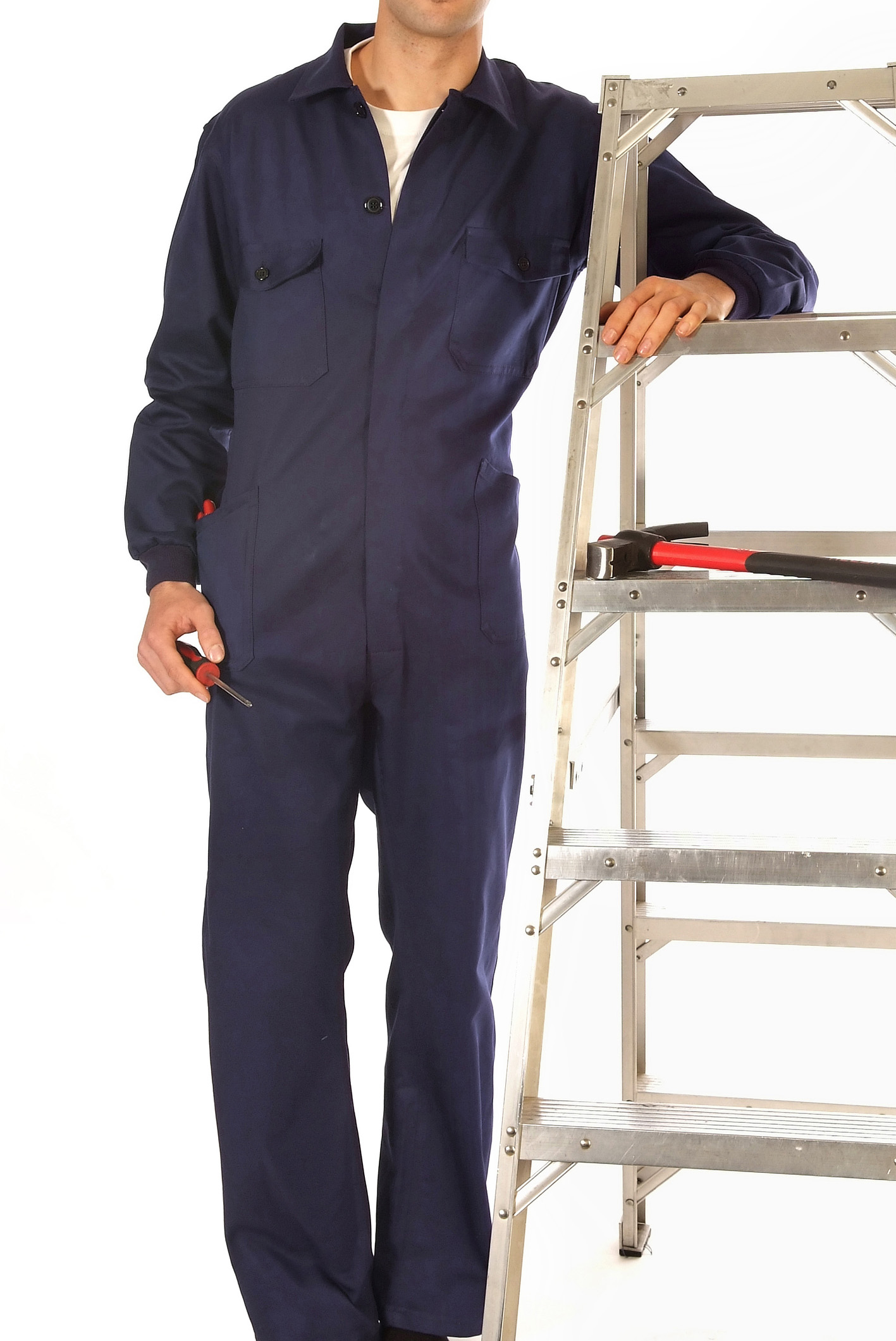 Coverall with buttons Image