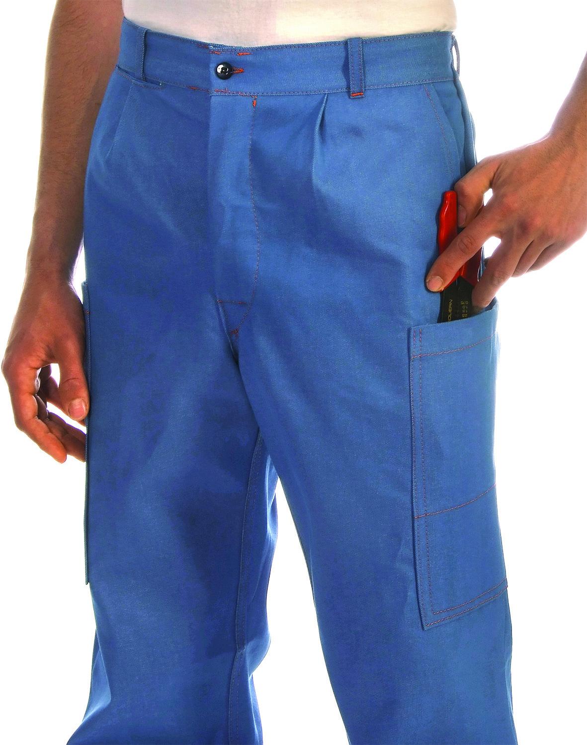 Denim trouser iberd pockets Image