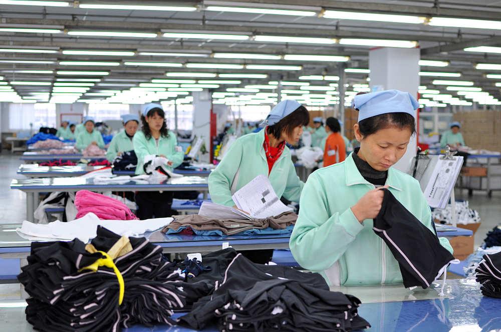 ropa fabricada en china